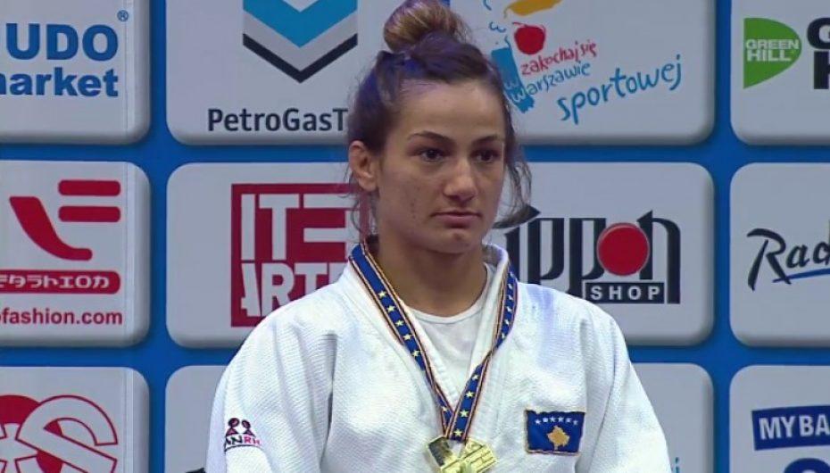 Majlinda Kelmendi fiton medaljen e artë në Evropian