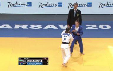 Nora Gjakova e bronztë në Evropian