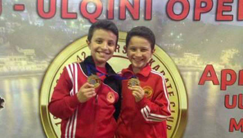 Suhejbi dy medalje të arta në Ulqin