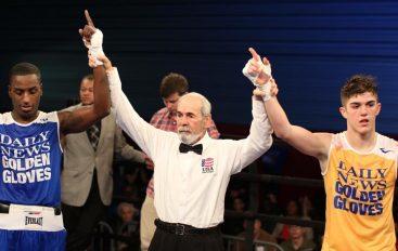 """Reshat Mati triumfon në """"Daily News – Golden Gloves"""""""