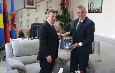 Tërstena: Kryetari i Lipjanit, Imri Ahmeti, me priti si një kampion olimpik