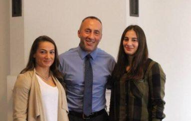 Haradinaj, Majlinda dhe Nora, sot ma keni rrit zemrën