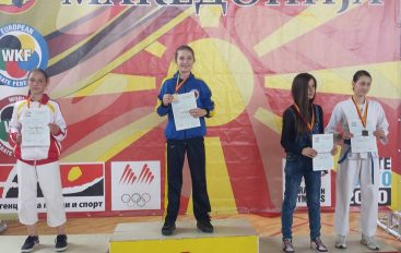 Rudina Aliu sivjet pret medalje nga Kampionati Ballkanik