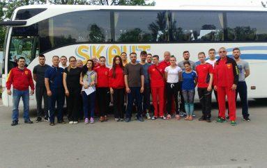 Karateistët nisen për në KE në Turqi