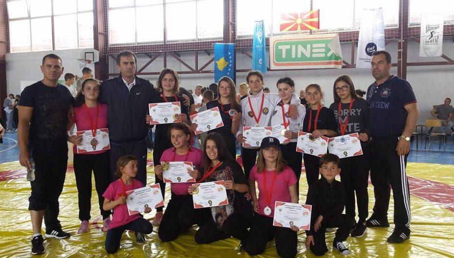 Kosova një thes medaljesh nga Shkupi, Djellza sërish fiton çmim