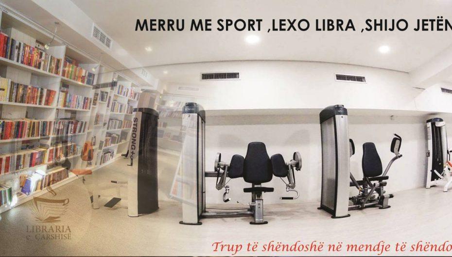 Promovime befasuese për klientët e tyre nga ShkupiGYM e Libraria e Çarshisë