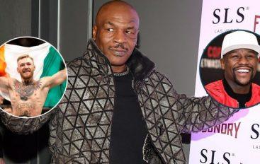 Mike Tyson jep parashikimin  për duelin ndërmjet McGregor dhe Mayweather