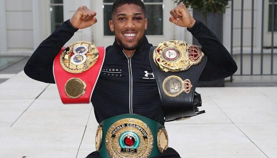 Joshua e humb titullin e kampionit në boks?