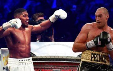 Tyson Fury kërcënon Joshuan