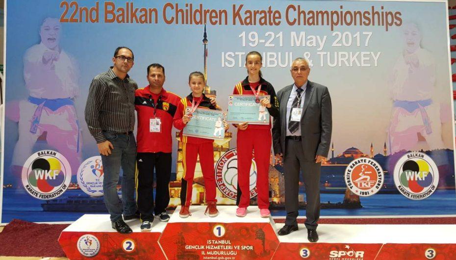Marija Bunteska Kampione e Ballkanit, Jusra fiton serish medalje