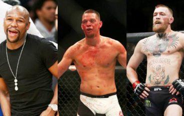 Diaz thumbon McGregorin e Mayweatherin!