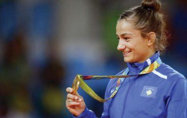 """Xhudoja botërore nominon Majlindën për """"kampione"""" të ciklit olimpik"""