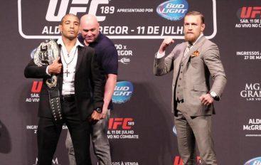 Aldo: McGregor nuk ka qenë kurrë kampion i asgjëje