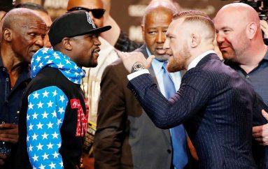 McGregor: Pas fitores, Mayweather mund ta bëjë revanshin në kafaz