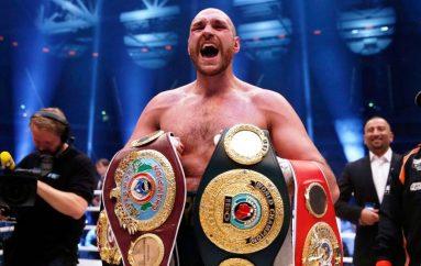 Tyson Fury konfirmon tërheqjen e tij nga sporti