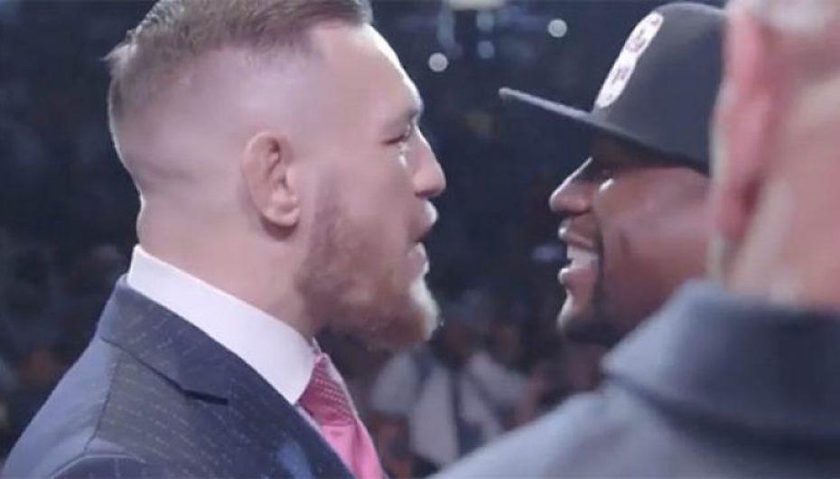 Mayweather apo McGregor, Anthony Joshua e ka ndarë mendjen kë ta përkrahë (Foto)