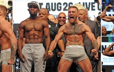 Kryhen peshimet, McGregor 2kg më i rëndë se sa Mayweather