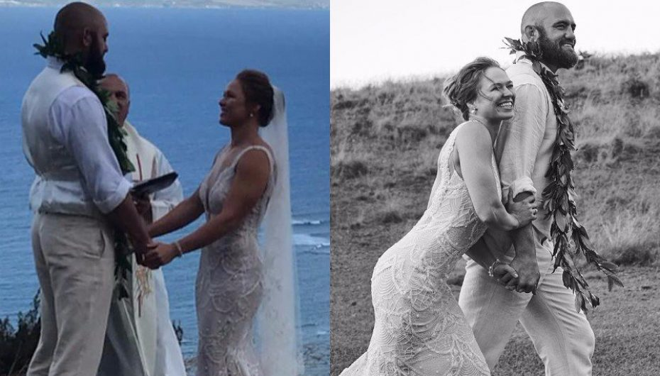 Rousey në altar, martohet në fshehtësi ditën e duelit Mayweather-McGregor