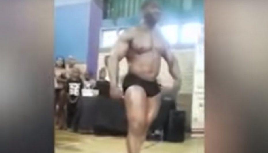 Momenti shokues kur 'bodybuilder'-i thyen qafën (KUJDES! Pamje të rënda)