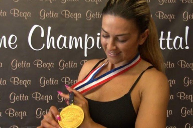 Geta Beça sërish pjesë e kampionatit botëror për fitnes