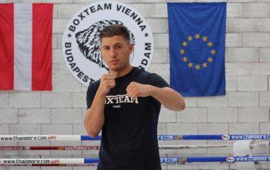 Bernardin Jakaj përgatitet për duelin e dytë profesionist
