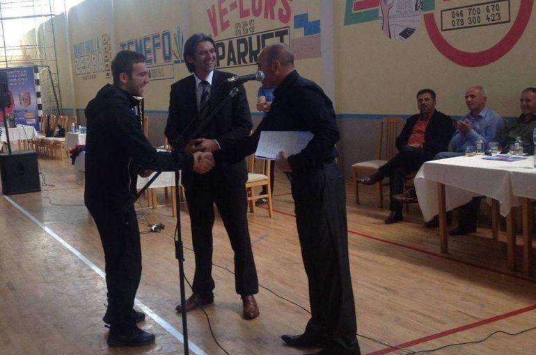 Karateisti Berat Jakupi në politik, kandidohet për Këshilltar komunal