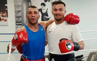 Elvis Hetemi sparing me boksierin e njohur Avni Yildirim