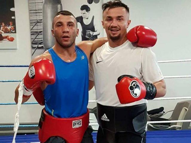 Elvis Hetemi sparing me boksierin e njohur Avdi Yildirim