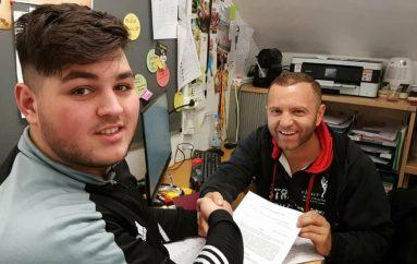 Granit Shala kalon në profesionalizëm, kontratë me menaxherin Agron Kurtishi