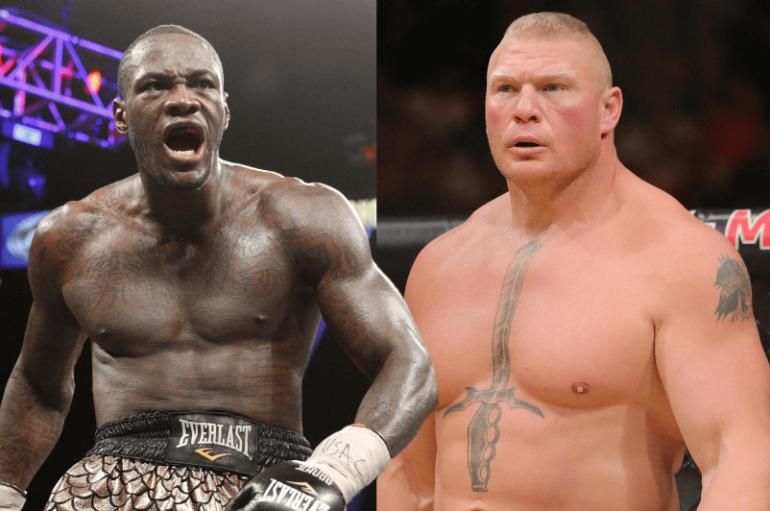 Wilder braktis ringun për kafazin, sfidon kampionin e UFC-së, Brock Lesnar