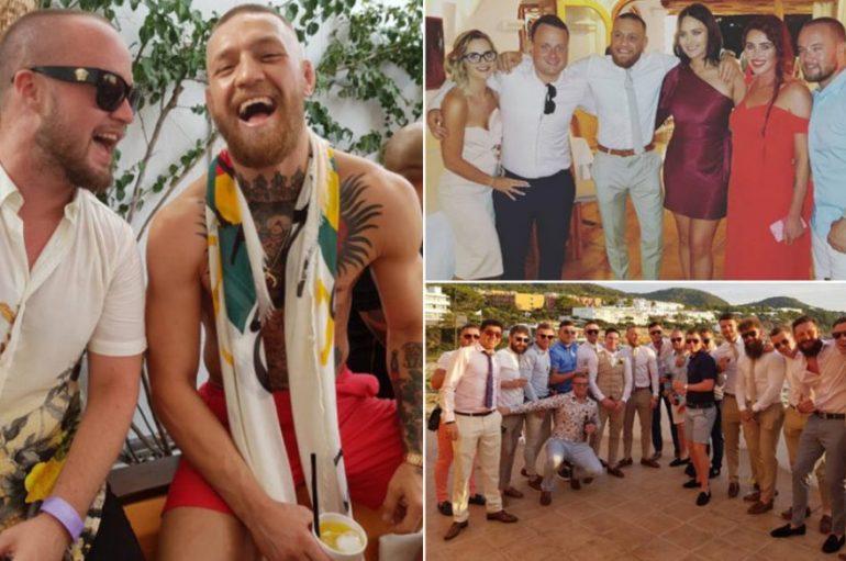 McGregor, dasëm dhe pushime në Ibiza pas duelit me Mayweather