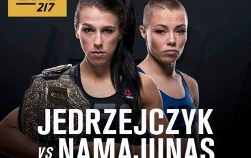 Zyrtare,  Jedrzejczyk do të mbrojë titullin ndaj Rose në UFC 217
