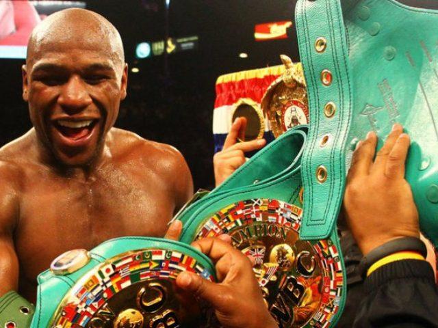 Floyd Mayweather  boksieri më i paguar në botë