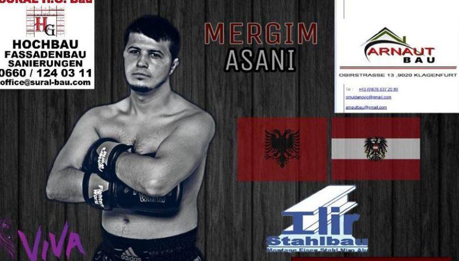 Mergim Asani anulon ndeshjen, sepse kundërshtari i tij lëndohet