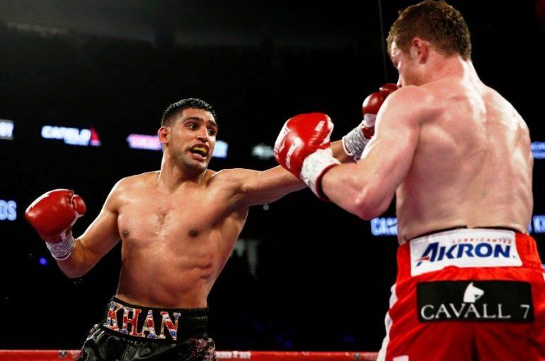 Khan fton Mayweather në ring për duelin e rikthimit si protagonist