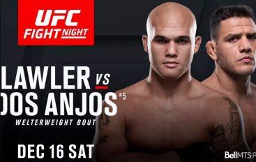 Dy ish-kampionët Dos Anjos dhe Lawler do të ndeshen në UFC në fund të vitit