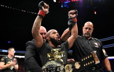 Demetrious Johnson shkruan historinë e UFC