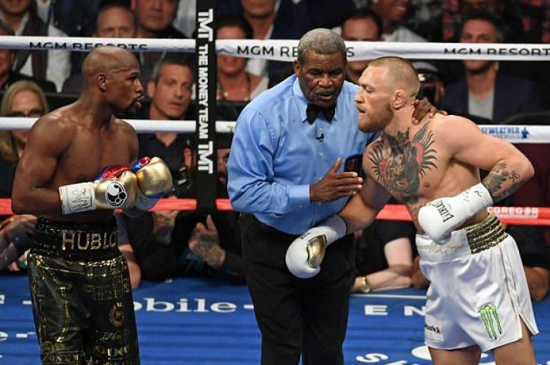 McGregor zbulon gjobën që do të paguante nëse do të skualifikohej ndaj Mayweather