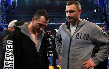 Vitali Klitschko fton Joshua në ring: Dua të hakmerrem për vëllanë tim