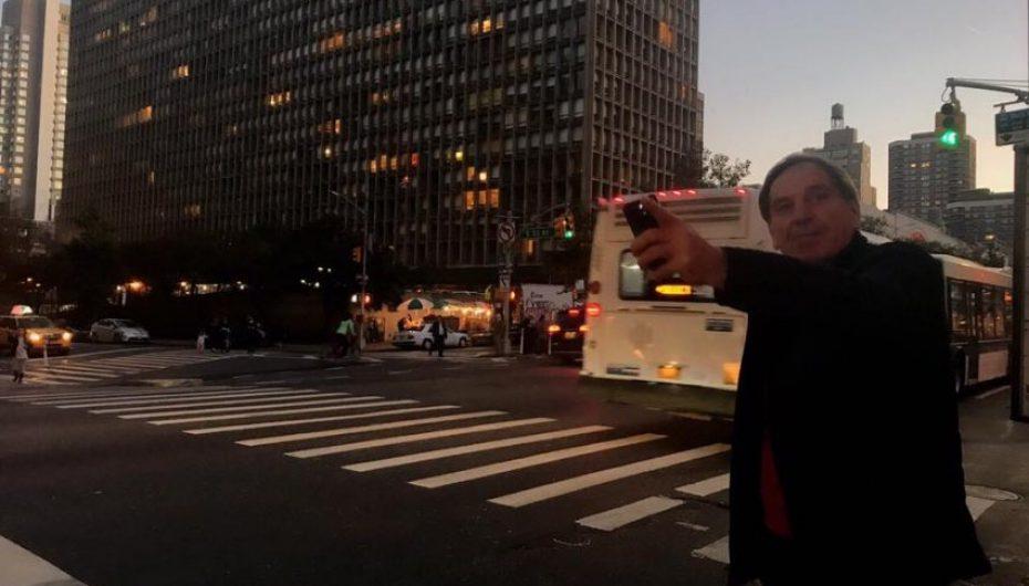 Aziz Salihu në semaforët e New Yorkut
