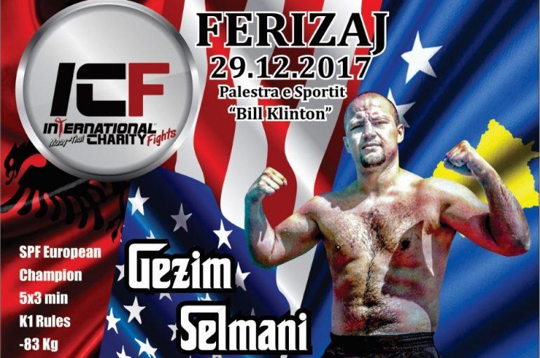 Gezim Selmani ndeshet për titull në ICF – Ferizaj