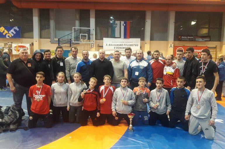 Maqedonia me 8 medalje nga Kampionati ballkanik ne mundje