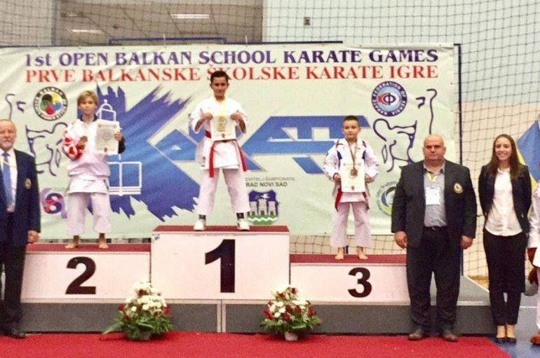 Dervishi bëhet kampion në Lojërat ballkanike