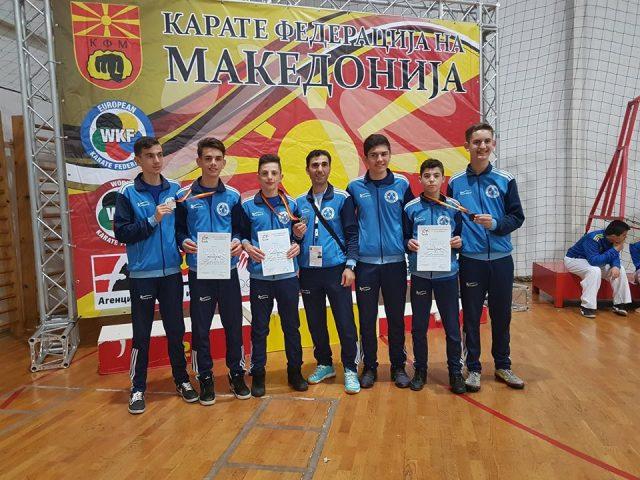 KK Rinia me tre karatistë në Ballkanikën në Mal të Zi