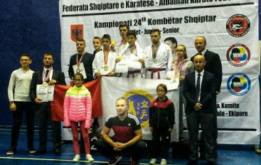 Karate, ekipi i Elbasanit Kampion Kombëtar për 2017