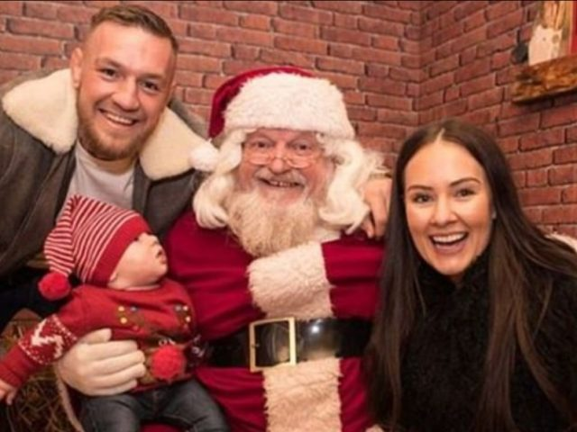 McGregor takon Babagjyshin  ka një kërkesë për Krishtlindje