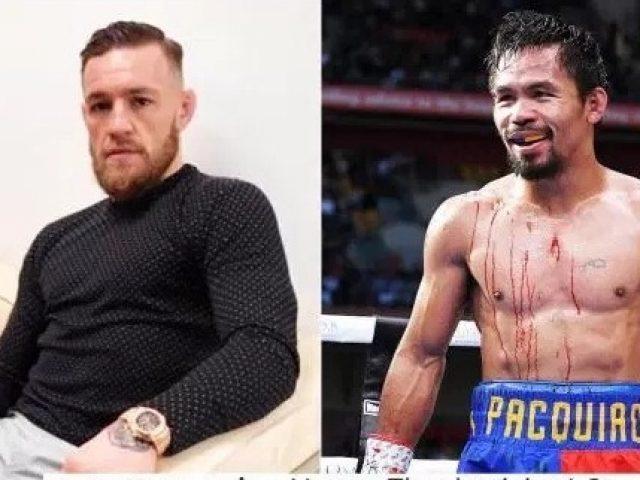 Manny Pacquiao sfidon McGregor në ring për  një ndeshje të vërtetë