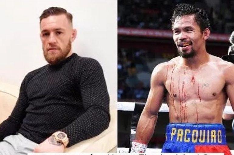 """Manny Pacquiao sfidon McGregor në ring për """"një ndeshje të vërtetë"""""""