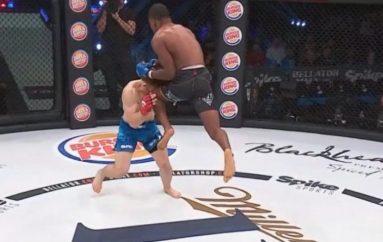 Claxton dhuron një goditje 'vrasëse' në debutimin e tij në MMA