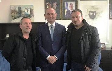 Besnik Vranovci i kënaqur nga takimi me kryetarin e Ferizajt, Agim Aliu